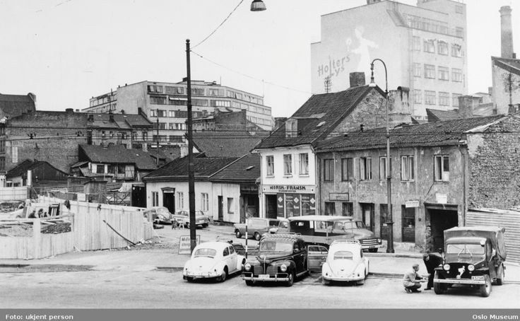 Parts of old Oslo,1960's