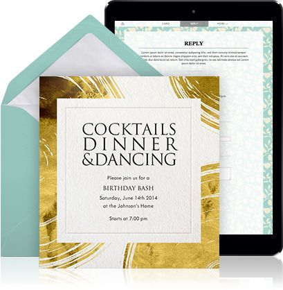 The 25 best corporate invitation ideas on pinterest creative online cocktail invitation example for a single invitation with white envelope white lining and a stopboris Image collections