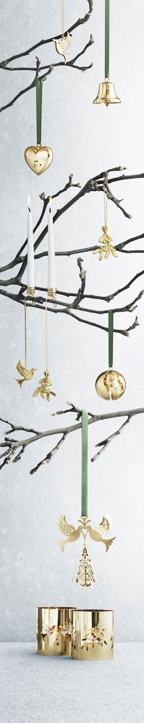 Family christmas collection Georg Jensen 2014 Jeg har juleophæng 2014 med mistelten, alle andre her ønsker.