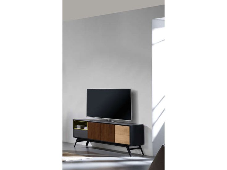 les 25 meilleures id es de la cat gorie meuble tv. Black Bedroom Furniture Sets. Home Design Ideas