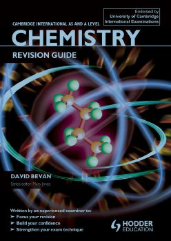 Free Download CIE As and A Level Chemistry Revision Guide in pdf Edited By David Bevan and published by Hodder Education .