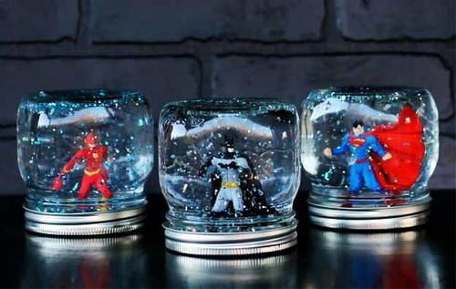 Grandsons of the world agree: these superhero crafts are the coolest things that their grandma could ever make for them. If you want to be the coolest grandma ever, make these Superhero Homemade Snow Globes and watch his eyes light up. Superhero activities don't get any more awesome than this. You can even have your grandchildren help you bring these superhero activities for kids to life. After all, no one knows more about superheroes than they do! You won't believe how easy these sup...