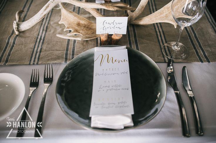 Table Setting at The Lakehouse Terri Hanlon Photography