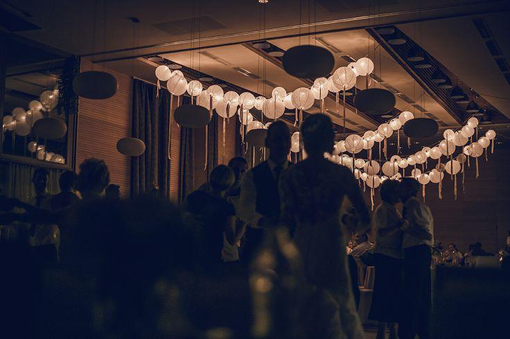 Világító csipkepapír lampionok