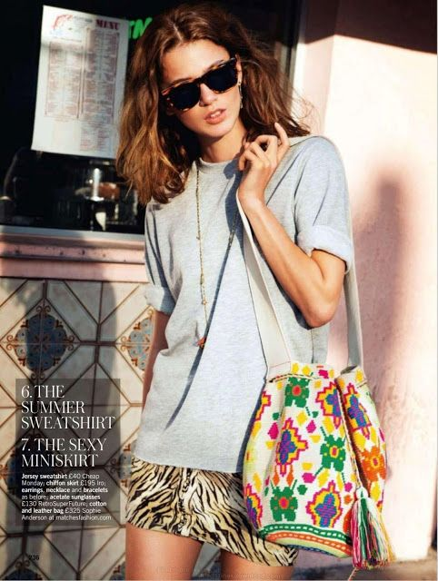Rudi Ovchinnikova - Glamour UK, July 2013 #wayuu