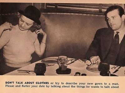 Women s Own 1954 Issue Tells Ladies How To Behave In A Restaurant