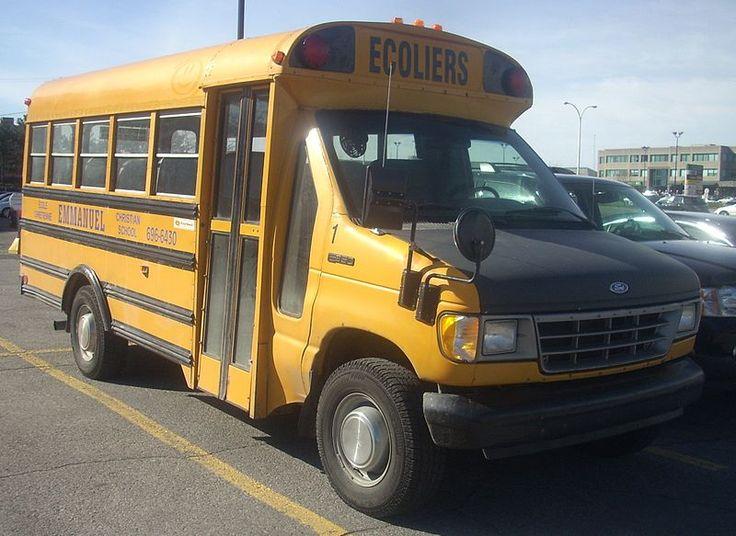 '95-'96 Ford E-250 School Bus - Ford E-Series - Wikipedia