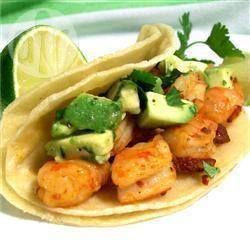 Tacos de camarón al chipotle @ allrecipes.com.mx
