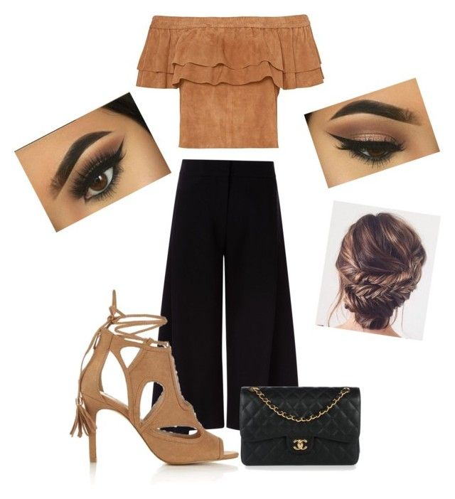 """""""👌🏻"""" by hibas7 on Polyvore featuring Victoria, Victoria Beckham, Miss Selfridge et Chanel"""