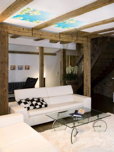 Dekoracyjny panel LED Wiosna 4fundesign https://ekotechnik24.pl #home #livingroom