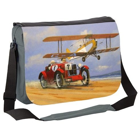 MG and TIGER MOTH Messenger Bag by rustomiser at zippi.co.uk