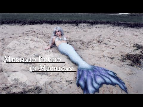 Mermaid Sighting! Real mermaid found alive swimming at the beach (2016) | The Magic Crafter - YouTube