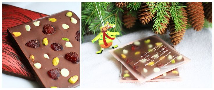 Очередной сладкий подарок. Очень вкусно, т.к. я выбрала шоколад, который сам по себе вкусный. Не смотря на то что он молочный, это шоколад высокого качества. Вяленая ягода сконцентрировала в себе вкус и аромат, фисташка и белый шоколад прекрасно дополняют клубнику. Для того, чтоб шоколад лучше…