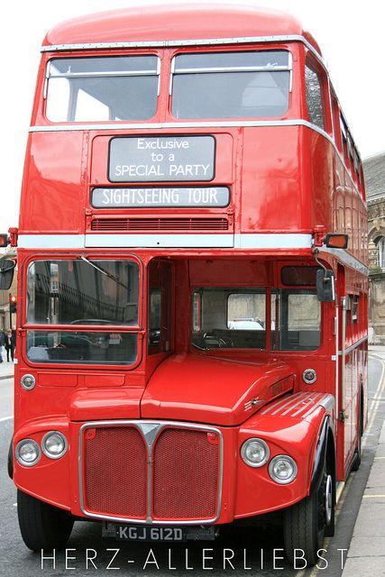 ♥ Old London Double Decker Bus