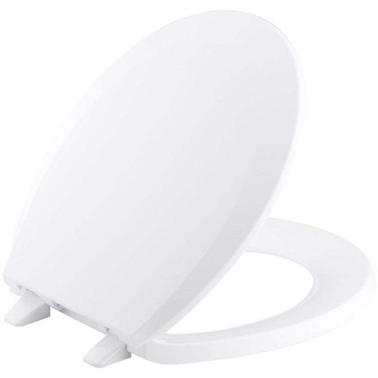 Kohler Lustra Round Closed Front Toilet Seat with Quick-Release Hinges