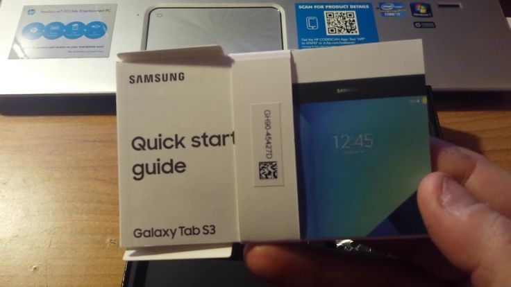 BRAND NEW Samsung Galaxy Tablet S3 Unboxing