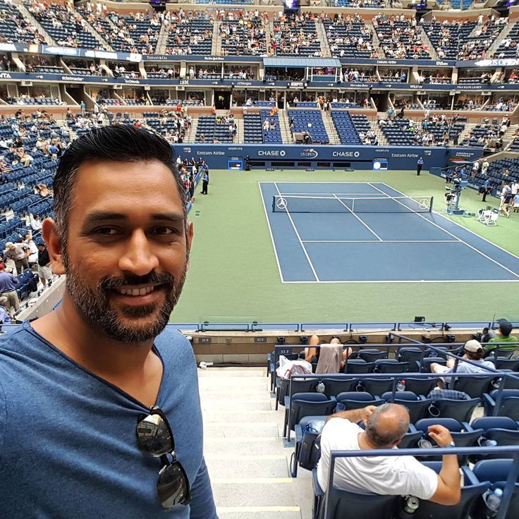 Had fun watching the semi finals of the US open, a different experience altogether