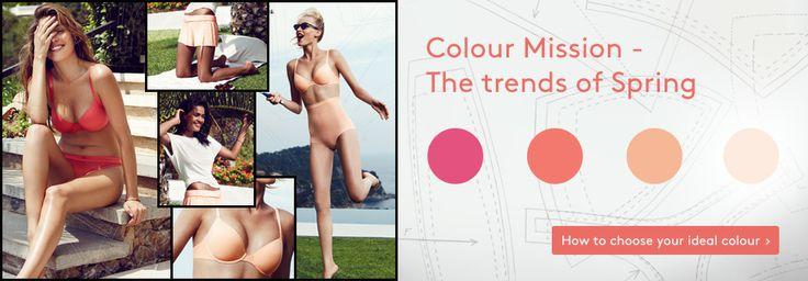 The lingerie trends of Spring – Choose your perfect Triumph lingerie colour on the Triumph Online Shop