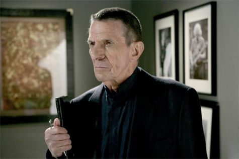 """Leonard Nimoy on what's coming in the """"Fringe"""" season finale and whether or not he'll be back next season."""
