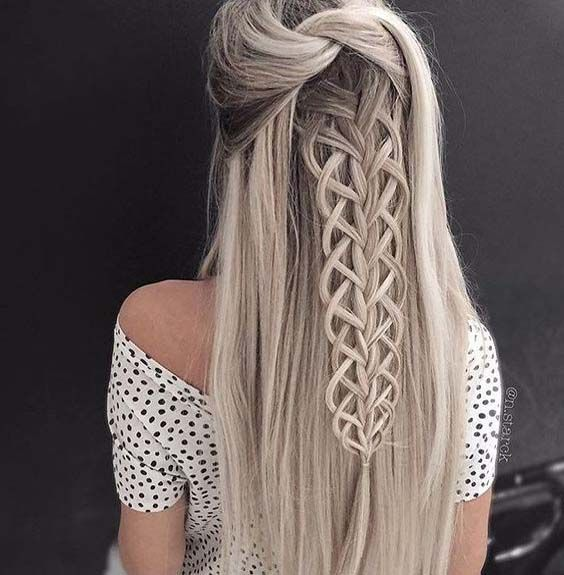 This braid by the beautiful hair 2017