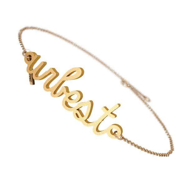 URBEST you are best bracelet 3D printed Zazzy custom jewelry