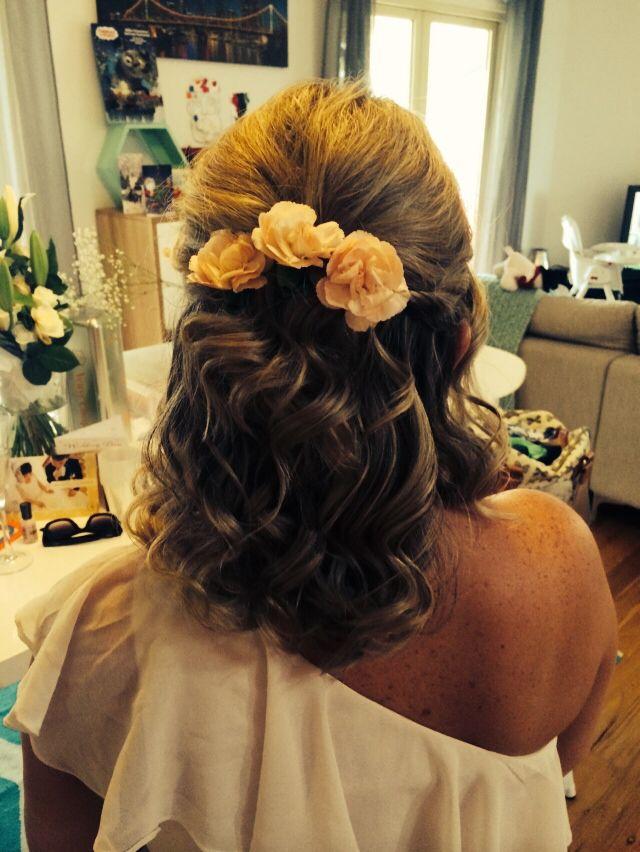 Bridesmaid #3 back shot
