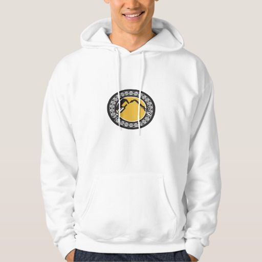 Welding Torch Caliper Ball Bearing Circle Retro Sweatshirt. Illustration of a welding torch and caliper set inside ball bearing circle done on isolated background done in retro style. #Illustration #WeldingTorch