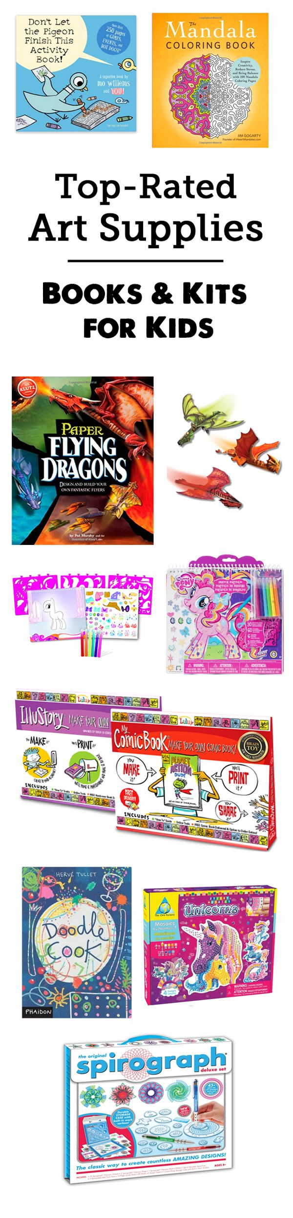 Kids Gift Guide: Best Art Supplies for Kids - So many cool and interesting picks here, love the age recommendations and detailed reviews.: