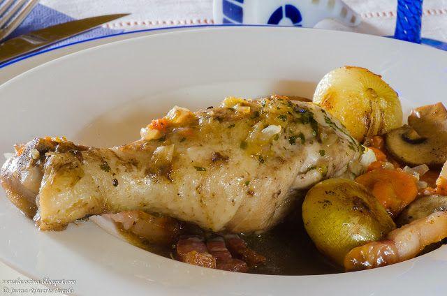 Ven a la cocina: Pollo braseado