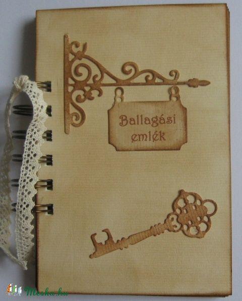 Ballagási emlék - album/napló