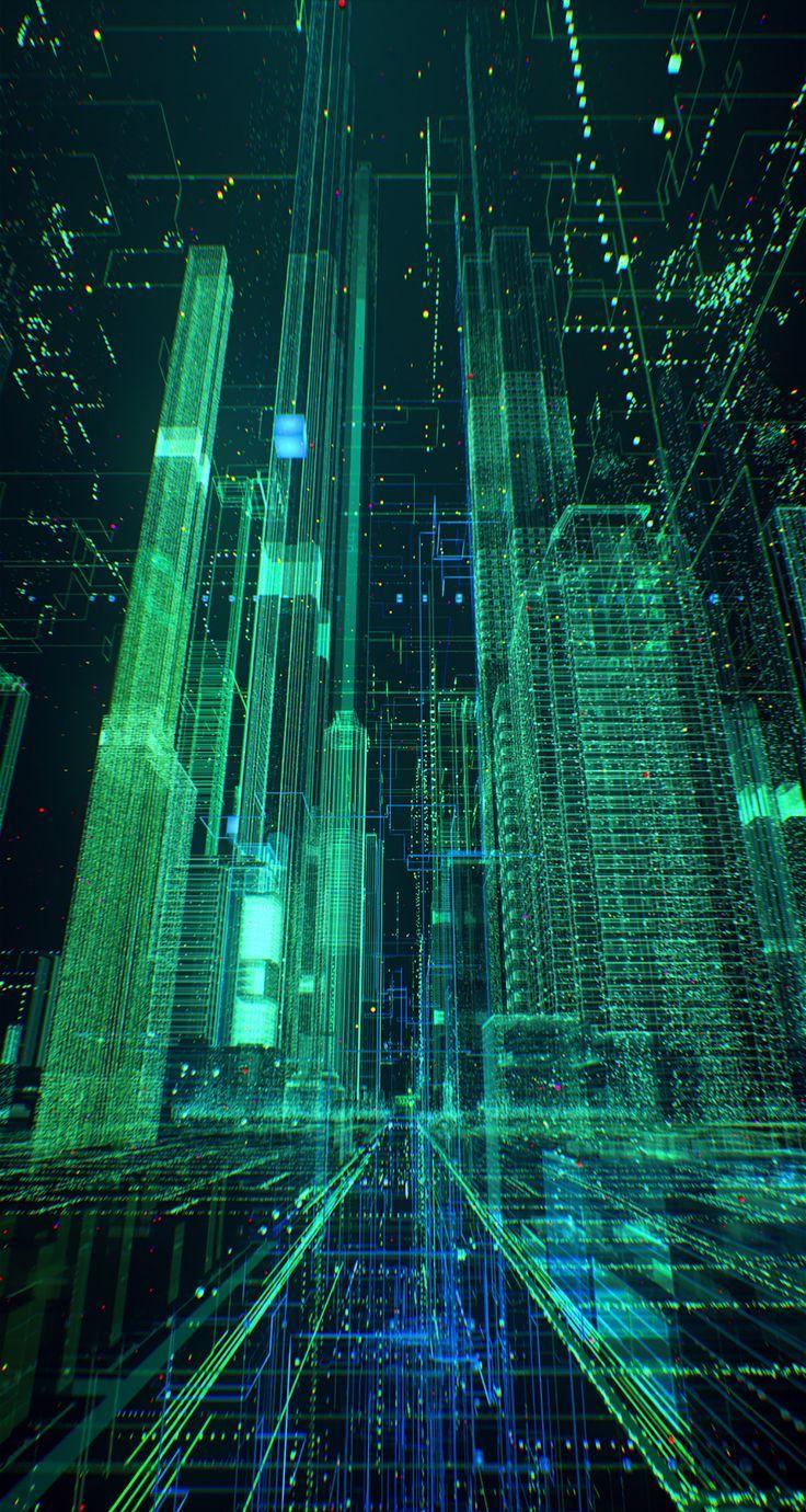 Standart Chartered Straight2bank On Behance In 2020 Technology Wallpaper Art Wallpaper Cyberpunk Art
