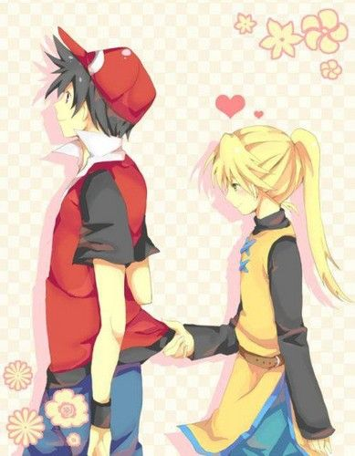 Red and Yellow - pokemon-adventures Photo