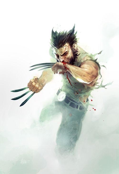 Logan's Bloodshed: Geek Art, Videos Games, Wolverines, Comic Book, Comicbook, Comic Art, Games Art, Michal Ivan, Superhero