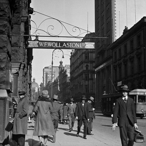 George & Wynyard Streets, circa 1930s