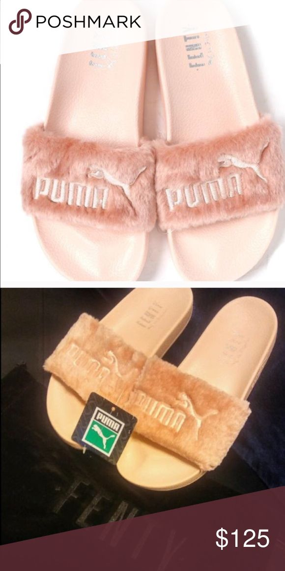 Puma fenty slides, brand new w dust cover Puma fenty slides brand new with dust cover Puma Shoes Slippers