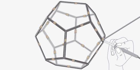 Hágalo Usted Mismo - ¿Cómo hacer una lámpara geométrica?