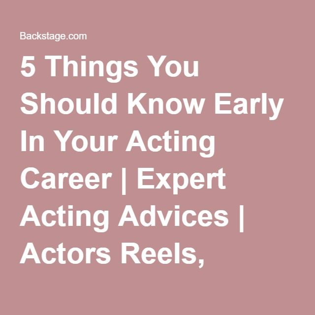 The 25+ best Acting career ideas on Pinterest Acting tips - resume for actors
