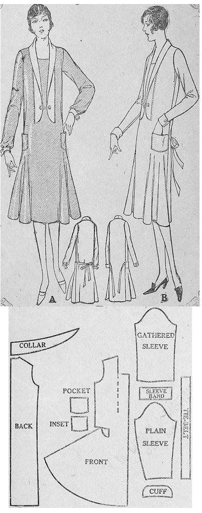 1926 Day Dress http://copa.apps.uri.edu/sample_garment.php?patID=52347