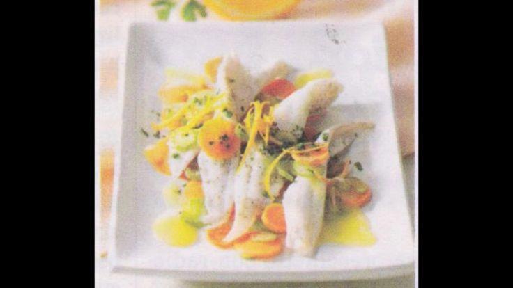 Ricetta di Cucina Filetti di Sogliola all'arancio