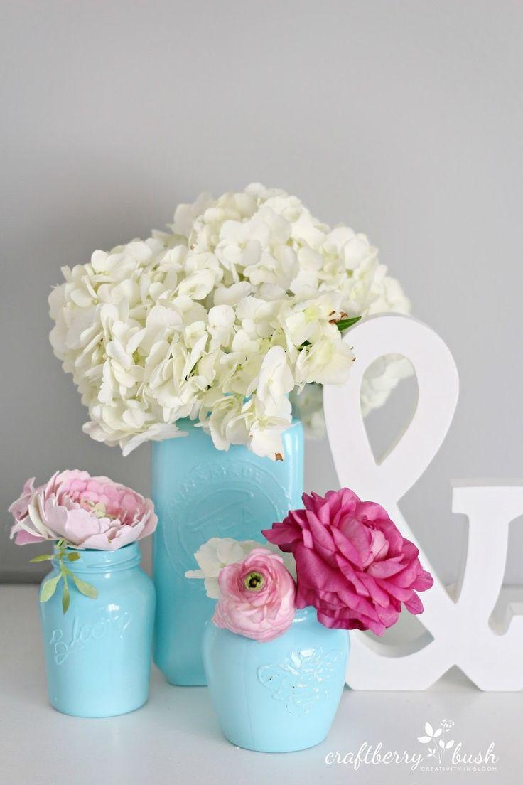 Funky Canning Jar Centerpieces Wedding Motif - The Wedding Ideas ...