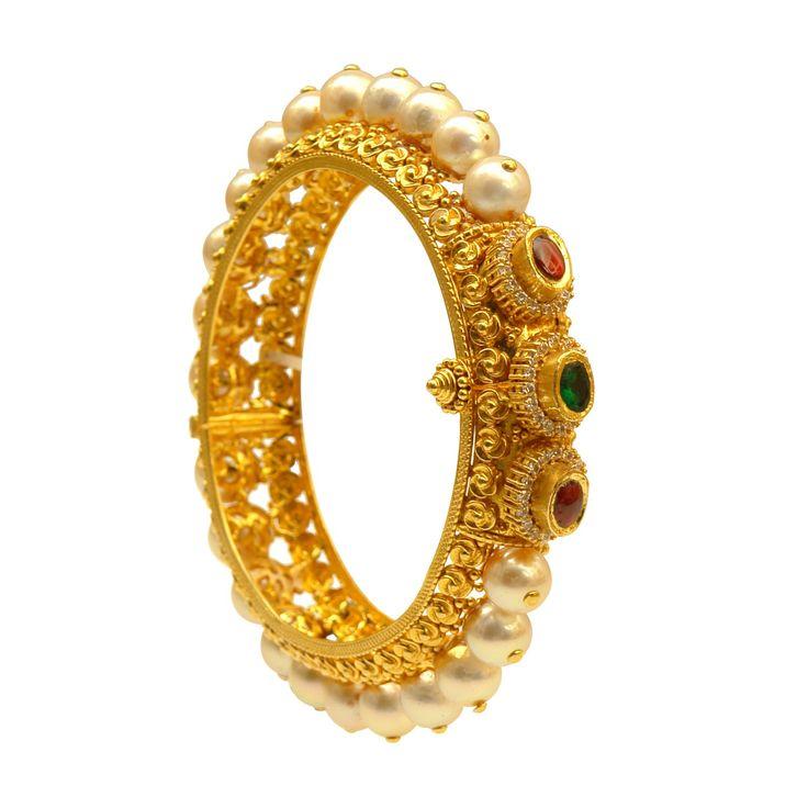 Pearl Bangle from Prince Jewellery www.addiga.com