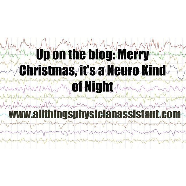 Multiple Neuro admissions!  Here's my experience about one of them! #neurology #cva #seizure #status #AMS #medicine #prepa #pac #pas #workingchristmas #physicianassistant #hospitalmedicine #physicianassistant