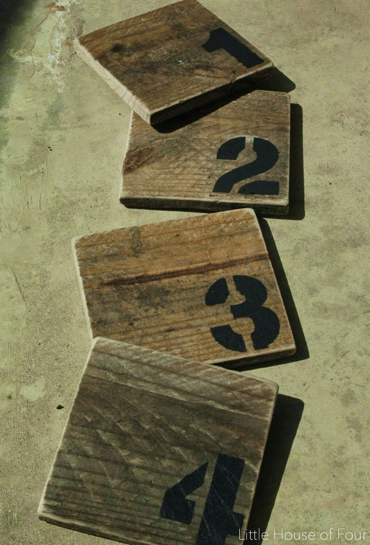 DIY Pallet Coasters                                                                                                                                                                                 More