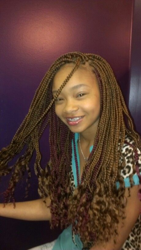 boy curly hairstyles : Black hairstyles #box plaits #braids Hair Pinterest Plaits ...