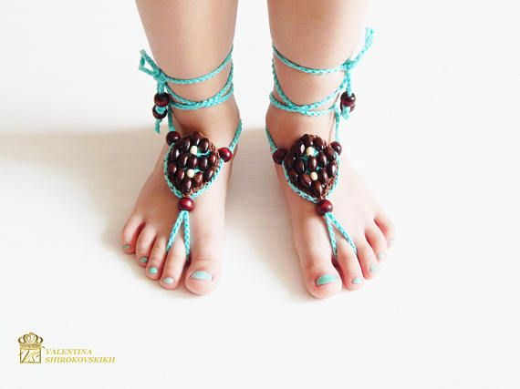 Hey, I found this really awesome Etsy listing at https://www.etsy.com/listing/529390045/crochet-barefoot-sandals-crochet