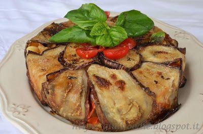 Giuli Foodie, le mie ricette in cucina: Timballo di Melanzane con Tubetti di Pasta e Mozza...