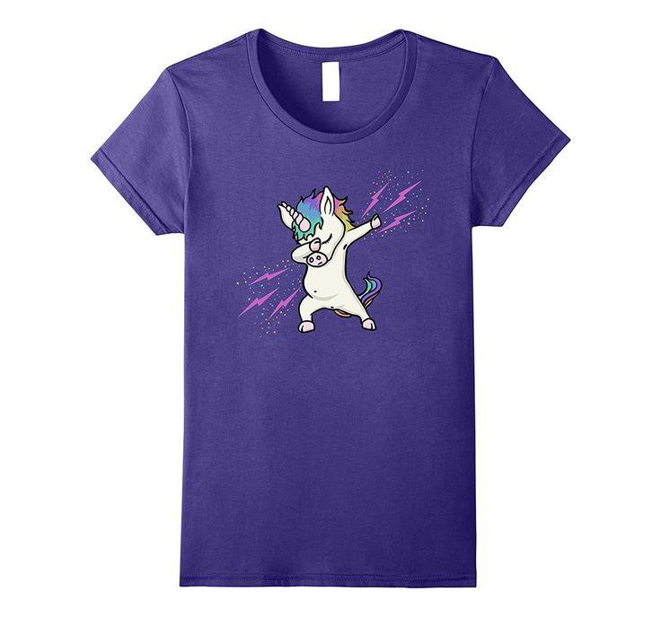 Cute Shirts For Teen Girls - Dabbing Unicorn Shirt