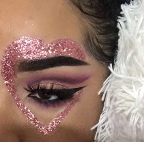 Kiss Makeup Designs: Best 25+ Glitter Face Ideas On Pinterest