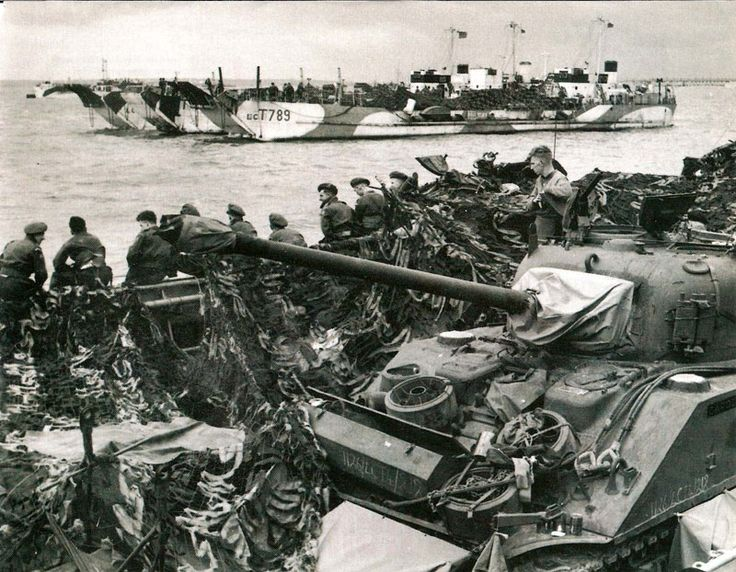 d day invasion units