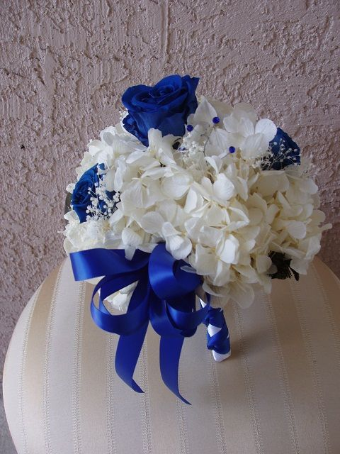 Royal Blue Silver And White Wedding Bouquets : Best images about cobalt royal blue silver and white